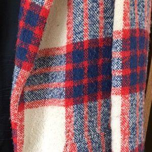 Zara Jackets & Coats - ZARA red and plaid coat